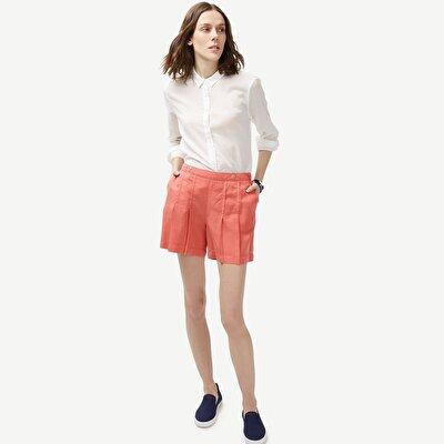 Shorts mit Biesen