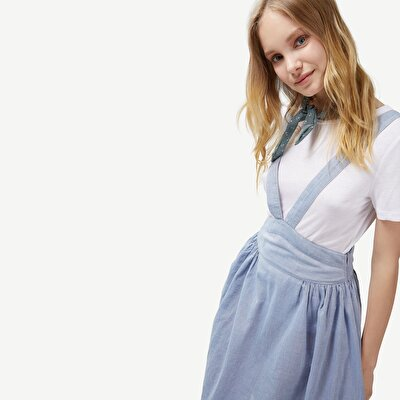 Picture of Tshirt Detailed Dress