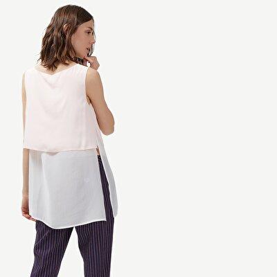 Fabric Detailed Long Shirt