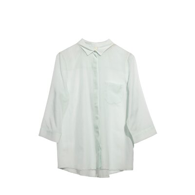 Single Pocket Detailed Shirt