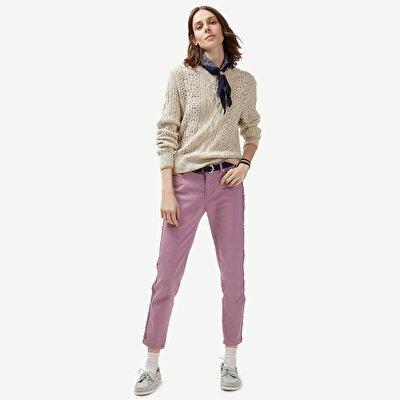 Resim Nakış Detaylı Pantolon