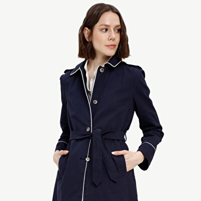 Picture of Belt Detailed Coat