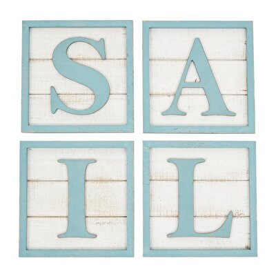 Wooden Sail Wall Decor ( 20 X 20 Cm)
