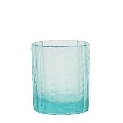 Glass Candle Holder ( 7,5 X 9 Cm )