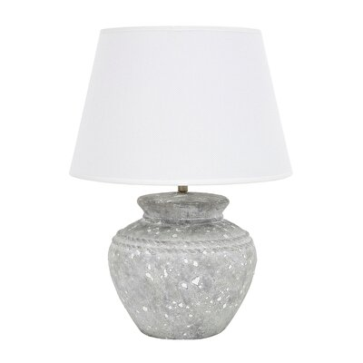 Tischlampe aus Keramik handgefertigt