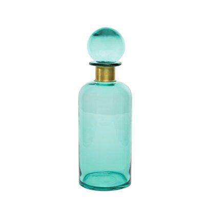 Decorative Glass Bottle ( 11,5 X 11,5 X 35 Cm )