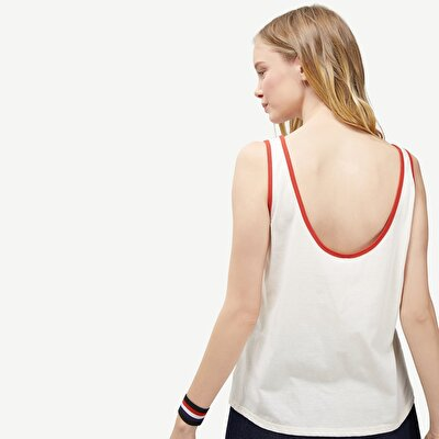 T-shirt mit Spaghettiträgern