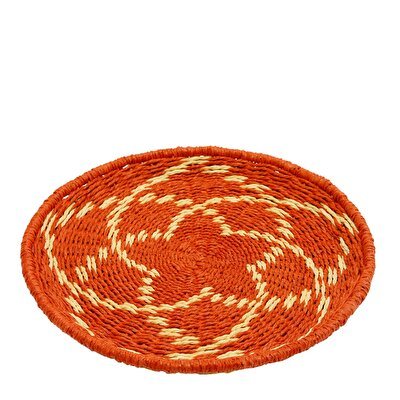 Picture of Straw Basket ( 29 X 29 X 2 Cm )