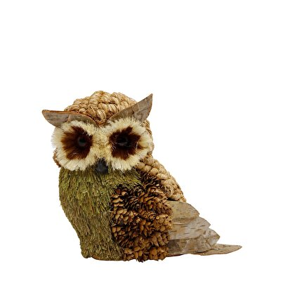 Picture of Decorative Owl Figure ( 12 X 23 X 24 Cm )