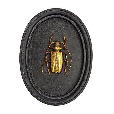 Resim Duvar Aksesuarı - Böcek ( 17 X 23 X 2,7 Cm )