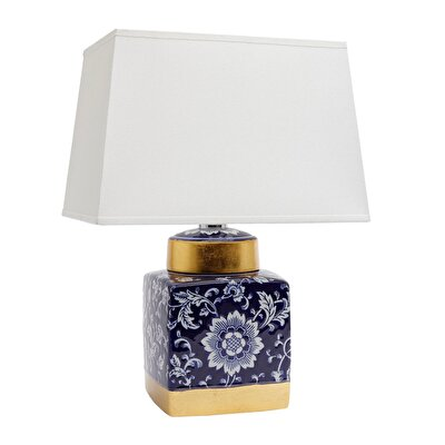Ceramic Table Lamp ( 24 X 34 X 45 Cm )