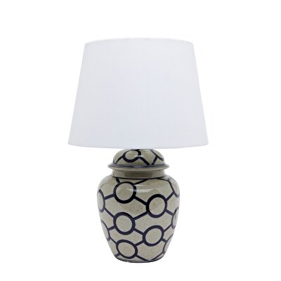 Ceramic Table Lamp ( 30 X 46,5 Cm )