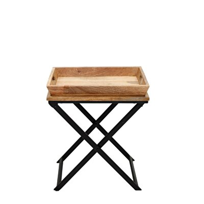 Side Table With Single Tray ( 33 X 51 X 60 Cm )
