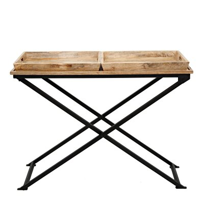 Picture of Coffee Table With Two Trays ( 57 X 114 X 44 Cm )