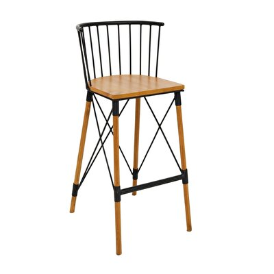 Teak High Chair ( 45 X 45 X 100 Cm )