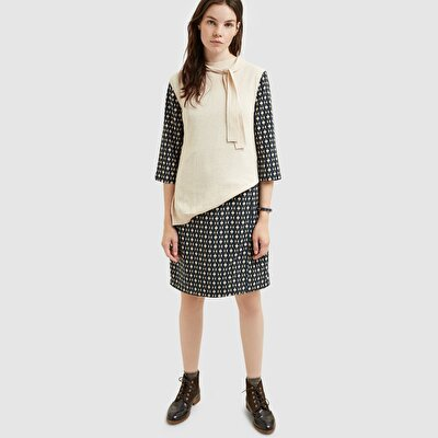 Picture of Foulard Detailed Sleeveless Tricot