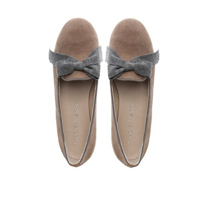 Suede Leather Ballerinas