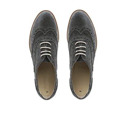 Süet Renkli Taban Ayakkabı
