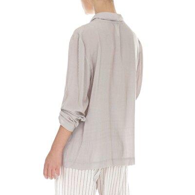DoublE-Breasted Pyjama Top
