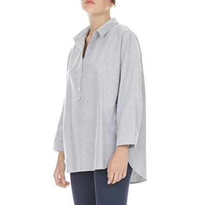 Shirt With Placket Detail