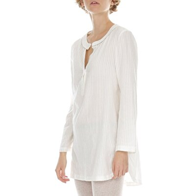Tunic With Piping Detail
