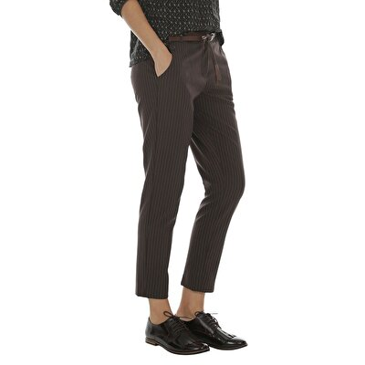 Resim Paça Yırtmaçlı Pantolon