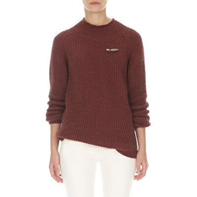 Picture of Reglan Sleeve Knit With Length Difference