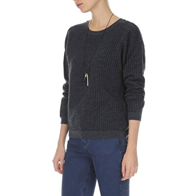 Picture of Long Sleeve Patterned Knit