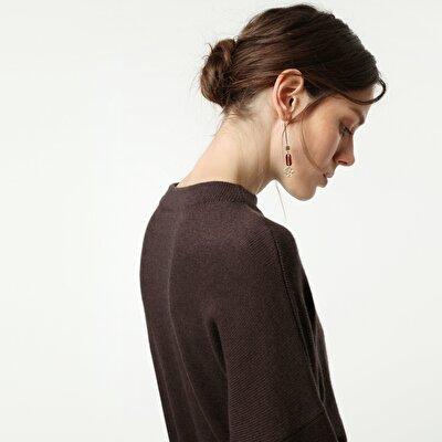 Resim Cep Detaylı Triko Elbise