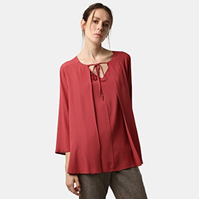 Tie Neck Detailed Blouse