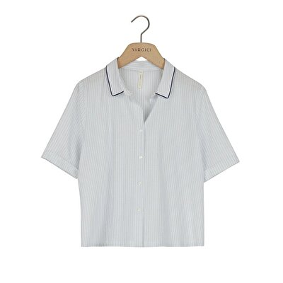 Short Sleeve Pyjama Top