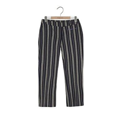 Resim Ütü Çizgli Pantolon