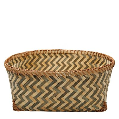 Picture of Handmade Bamboo Basket (30x10 Cm)