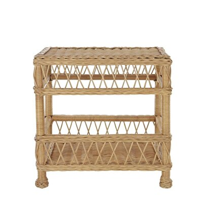 Picture of Rattan Side Table (61x60x45 Cm)