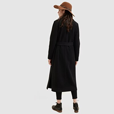 Picture of Long Slit Detailed Coat