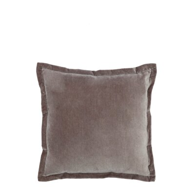 Cotton Velvet Pillow ( 45 X 45 Cm )