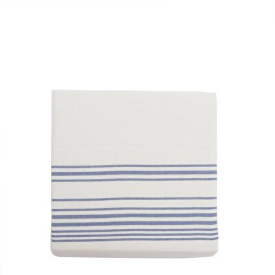 Esinti 2'li Mavi Çizgili Yastık Kılıfı ( 50 X 70 Cm )