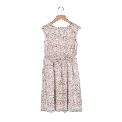 Belt Detail Loose Fit Dress
