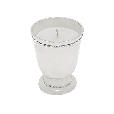 Picture of SilveR-Plated Candle (  10 X 8 Cm  )