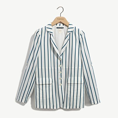 Picture of Casual Jacket With Pockets