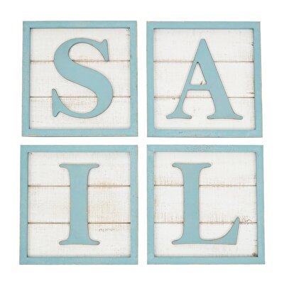 Segel-Buchstabengemälde (20 x 20 cm)