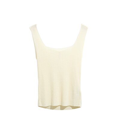 Picture of Square Neck Sleeveless Knitwear