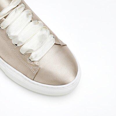 Resim Saten Kumaş Spor Ayakkabı