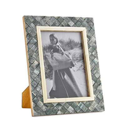Picture of Bone Plated Photo Frame ( 12 X 18 Cm )
