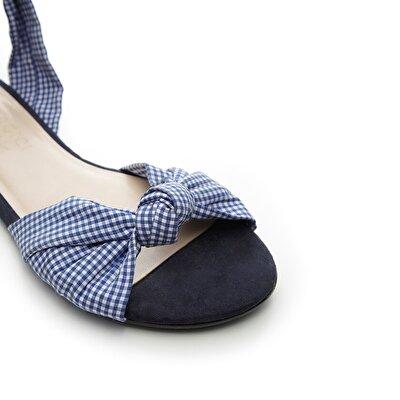 Resim Kumaş Sandalet