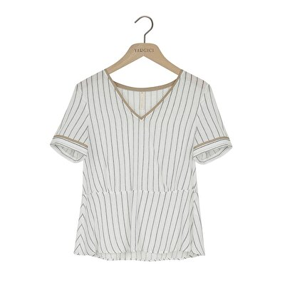 Picture of V Neck Blouse