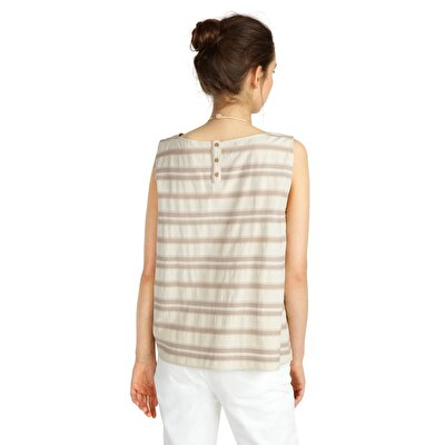 Picture of Tessel Detailed Sleeveless Blouse