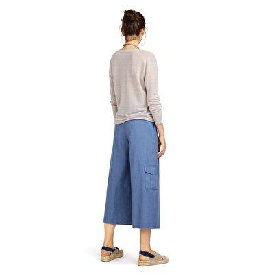 Resim Cep Detaylı Külot Pantolon