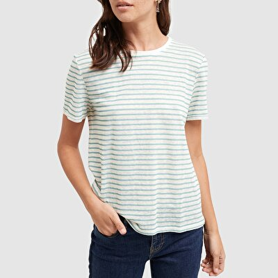 Picture of Short Sleeve Striped T-Shirt