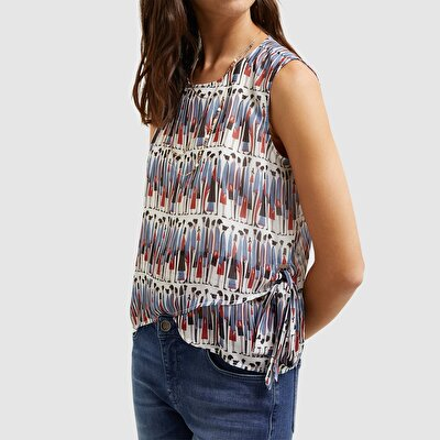 Picture of Tie Detailed Blouse